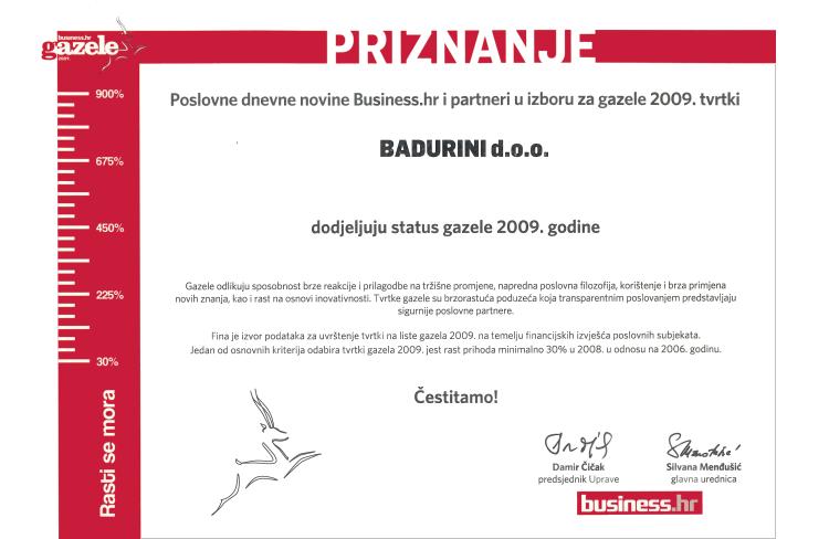 Status Gazele 2009!