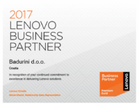 Lenovo Premium Gold Business Partner 2017.