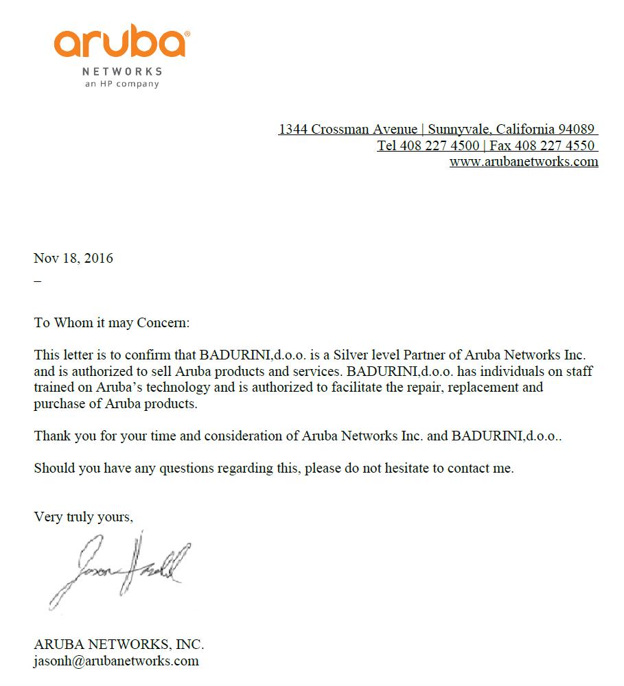 Aruba 2016!